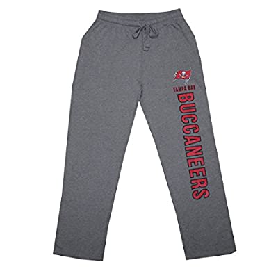BIG & TALL Mens NFL Heavy Weight Lounge / Sleep Pants: TAMPA BAY BUCCANEERS