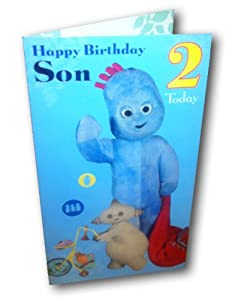 In The Night Garden Son 2nd Birthday Greeting Card