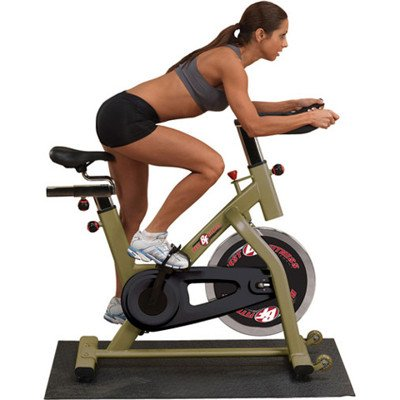 Best Fitness BFSB5 Spin-Style Upright Exercise Bike