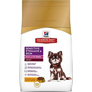 Hill's Science Diet Canine Adult Sensitive Stomach & Skin Small & Toy Breed Dog Food, 15 lb