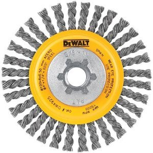 DEWALT DW4925B 4 X 5/8-11 Hp .020 Carbon Stringer Wire Whl Bu (Price is for 6 Each/Case) запчасти для трансмиссии k07 k17