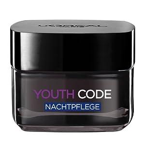 L'Oréal Paris Dermo Expertise Youth Code Anti-Falten Pflege Nacht, 50 ml
