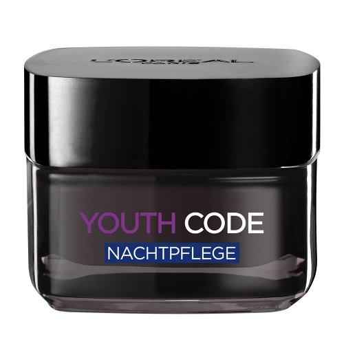 L'Oréal Paris Dermo Expertise Youth Code Anti-Falten Pflege Nacht, 50 ml