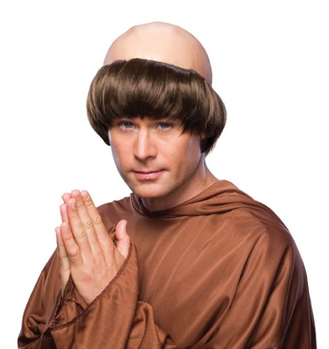 Rubie's Costume Monk Wig with Tonsure