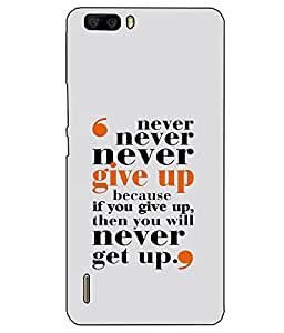 Astrode Printed Designer Back Case Cover For Huawei Honor 6 Plus