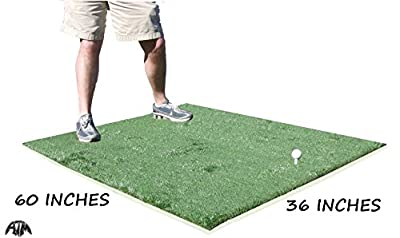 3 Feet x 5 Feet Golf Chipping Driving Range Commercial Fairway Practice Mat