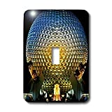 Danita Delimont - Florida - Florida, Orlando. Epcot Center at Walt Disney World - US10 BBA0072 - Bill Bachmann - Light Switch Covers - single toggle switch