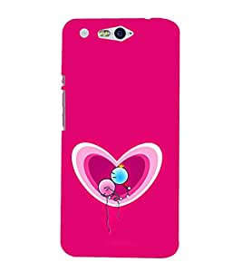 EPICCASE Love in Air Mobile Back Case Cover For InFocus M812 (Designer Case)
