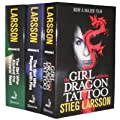 Stieg Larsson 3 Book Set Millennium Trilogy Collection