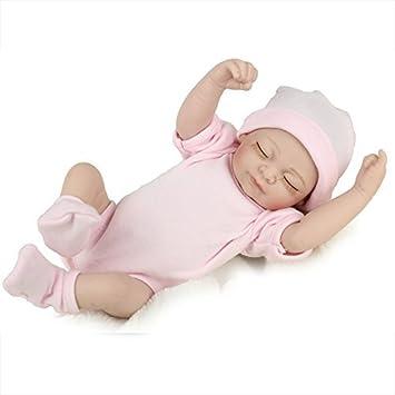 Poupée Réaliste Bébé poupées réaliste Nuisette Jouet Réaliste Little boy poupée avec vêtements et chapeau