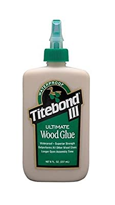Franklin International 1413 Titebond-3 Ultimate Wood Glue, 8-Ounce