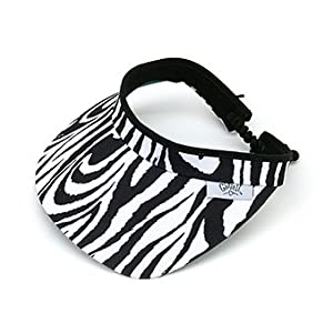 Glove It Zebra Ladies Golf Visor