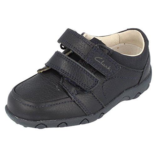 "Boys Clarks ""Get Smart formale in pelle primo Walking Shoes, blu (Navy), 36,5 EU Bambino"