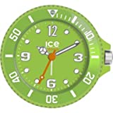 Ice-Clock 90 mm Travel Alarm Clock, Green