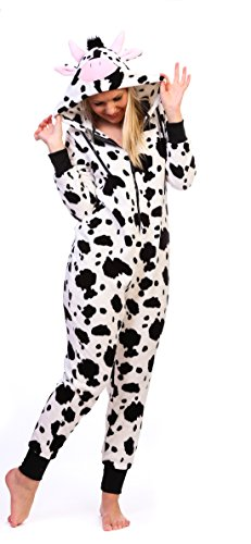 Totally Pink Women's Warm and Cozy Plush Character Onesie ...