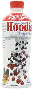Body Choice High Fiber Weight Loss Solution, with 100% African Hoodia Green Tea Extract, Acai Flavor, 32-Ounce Bottle