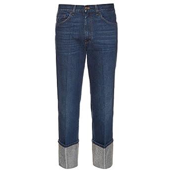 (グッチ) Gucci メンズ ボトムス ジーンズ Straight-leg turn-up jeans 並行輸入品