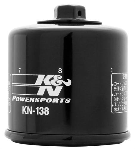K&N Air Filters Kn-138 Suzuki Quad Oil Filter front-52775