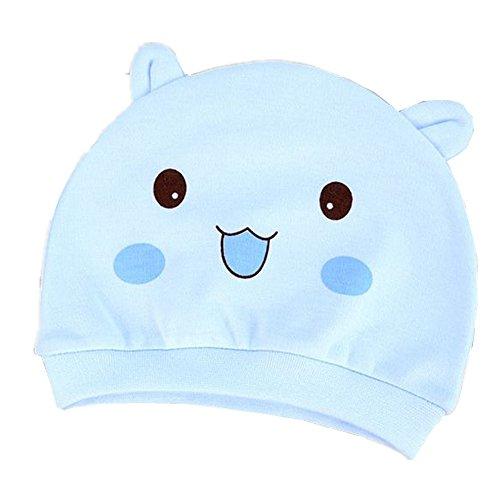 Frbelle Baby Hut Mütze Newborn Unisex Baby 100% Baumwolle Hüte Mützchen Geburtsgeschenk Für 0-6 Monaten Baby