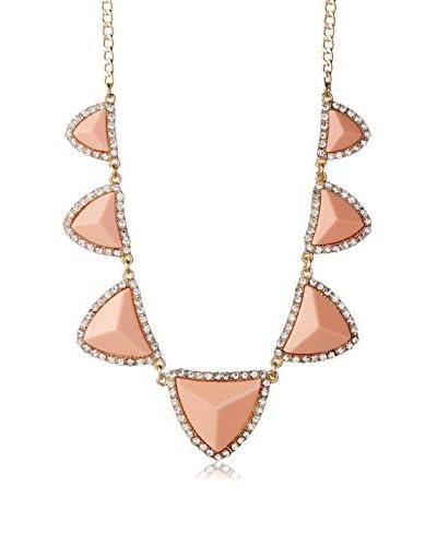 Amrita Singh Women's Crystal Dorcas Necklace, Peach