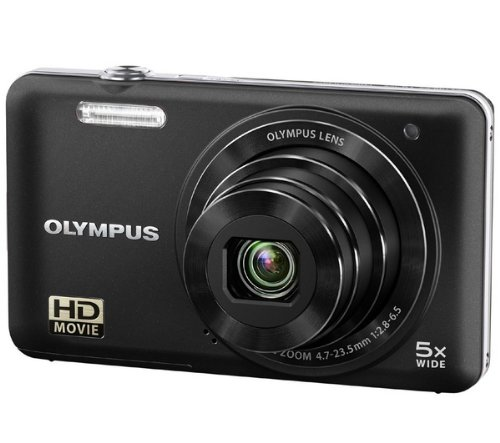 Olympus VG-160 14MP Digital Camera with 5x Optical Zoom (Black)
