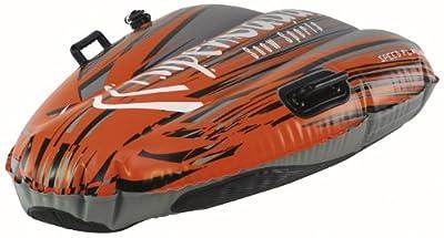 Aufblasbare Rodel - Alpenspeed Flash 1 Orange 115 Cm von Alpengaudi