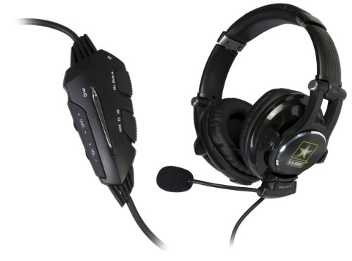 U.S. Army Universal Gaming Headset With 3D Effect For Ps3/Xbox/Pc