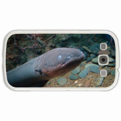 Custom Fashion Design Samsung Galaxy S3 Siii Back Cover Case Personalized Customized Diy Gifts In Electric Eel White