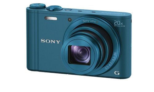 Amazon: Sony Cyber-shot DSC-WX300/LCE32 18.2MP Point-and-Shoot Digital Camera (Blue) with Camera Case @ 16,049/-