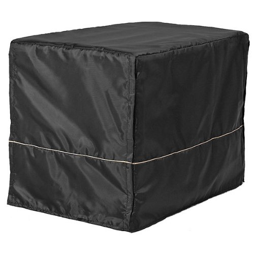 Midwest Black Polyester Crate Cover For 36 Inch Wire Crates, 36 Inches By 23 Inches By 25 Inches front-41605