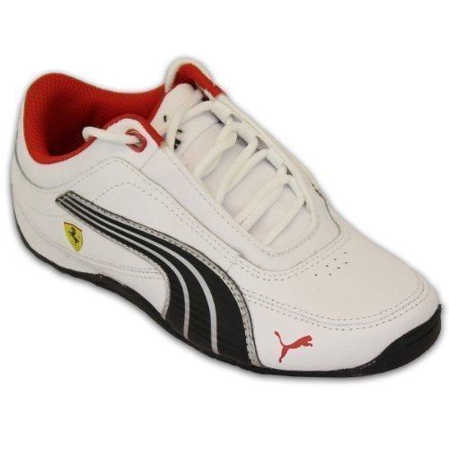 Boys' Trainers Puma Pu30429801 White/Black Uk 2 front-1008719