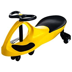 Lil Rider Lil Rider Wiggle Car Ride On, Yellow