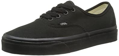 Vans Authentic, Unisex-Adults' Low-Top Trainers, Black, 2.5 UK