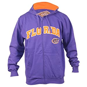 NCAA Classic Student Full Zip Hoodie by 3 Four