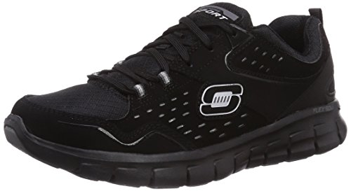 Skechers - Synergy Front Row, Sneakers da donna, nero (bbk), 39