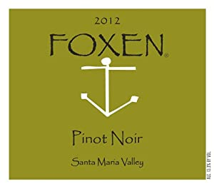 2012 FOXEN Pinot Noir Santa Maria Valley 750 mL