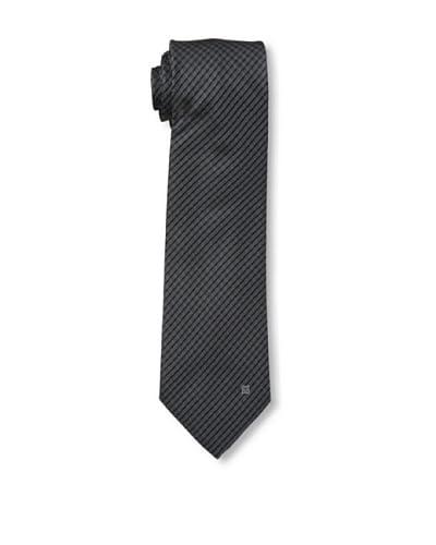Givenchy Men's Striped Tie, Dark Grey