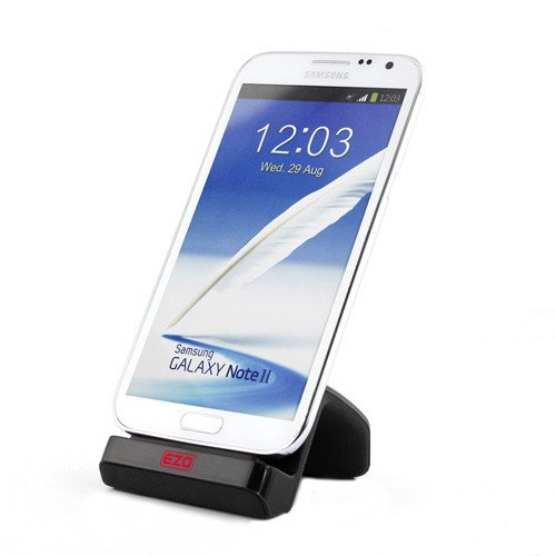 EZOPower Micro-USB Dock Cradle Desktop SmartPhone Charger for Samsung Galaxy Note 3 III / Galaxy Mega Android Cell Phone