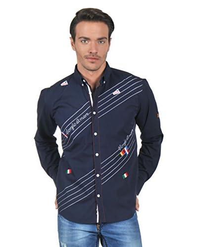 Giorgio Di Mare Camicia Uomo 9625 [Blu Navy]
