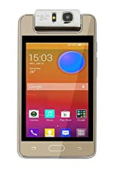 Microkey E9 4 Touch Screen 1.3 GHZ Quad Core 180degree rotating camera mart Phone-Gold
