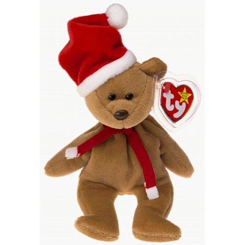 1997 Holiday Teddy Bear - MWMT Ty Beanie Babies - 1