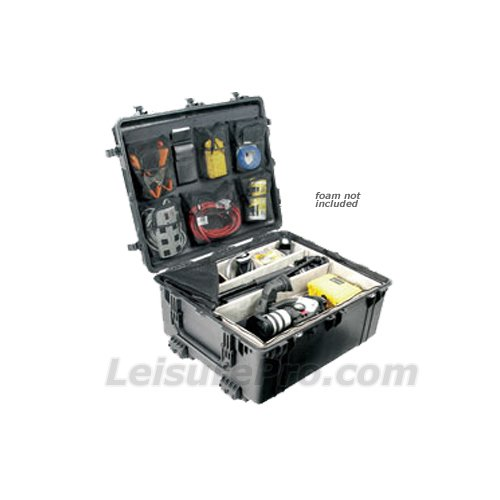 Pelican 1690 No Foam Transport Roller Case