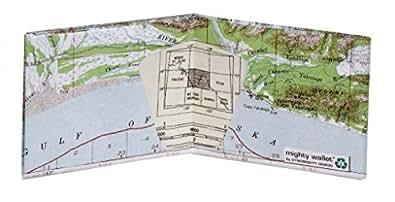 Explorer Map Tyvek Mighty Wallet - 8x10 cm