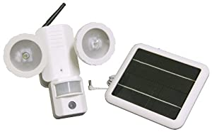 XEPA PSD3E Solar Powered LED Security Light with Camera - Add On Unit to Model PSD3