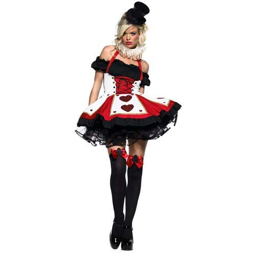 Leg Avenue 2pc. Pretty Playing Card Costume, includes dress and neck piece
