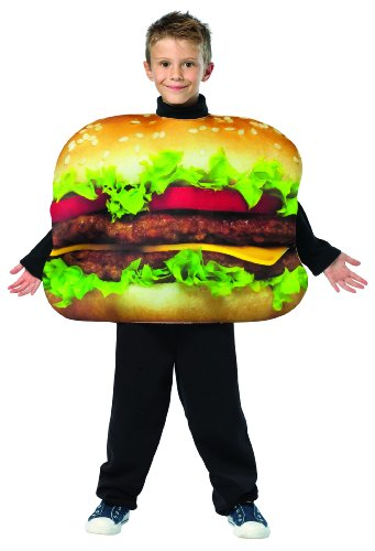 Get Real Cheeseburger Costume Child