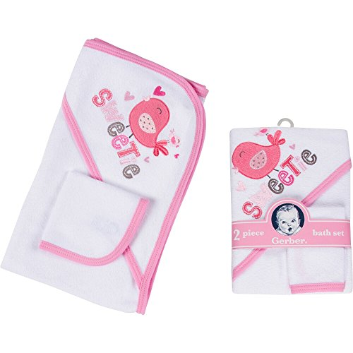 Gerber 2pc Bath Set - Girl-STD