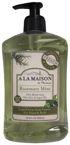 A la maison de provence liquid soap rosemary mint 16 9 for A la maison soap review
