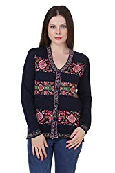 Spink Women's Acrylic Sweater (c-6501_Multi_Free Size)