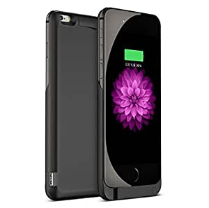 JT S iPhone 6 Battery Case, 3800mAh External Protective iPhone 6 Charger Case / iPhone 6 Charging Case Extended Backup Battery Pack Cover Case Fits with Any Version of Apple iPhone 6 / 6 S